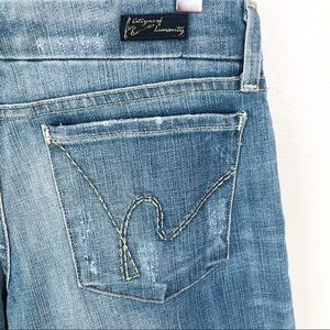 Citizens Of Humanity Jeans - CITIZENS OF HUMANITY l Jerome Dehan Cropped Jeans